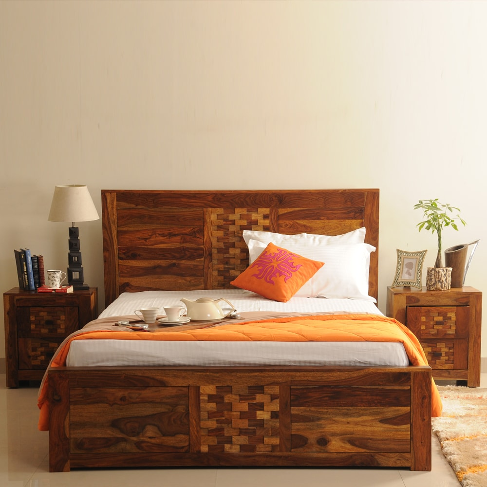 Imporio Queen Bed Without Storage IT00050161 (1)